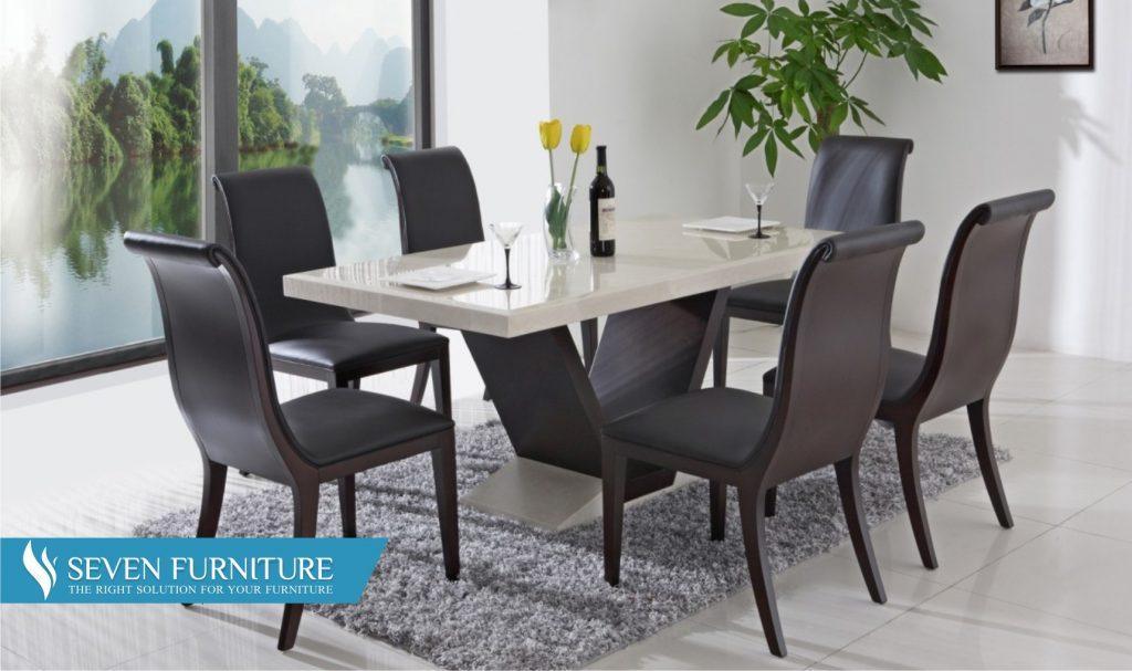 Set Meja dan Kursi Makan Modern 38