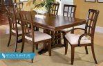 Set Meja dan Kursi Makan Mahogany 39