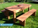 Meja dan Kursi Taman Simpel