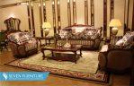Set Meja dan Kursi Sofa Ruang Tamu