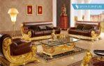 Set Meja dan Kursi Tamu Sofa Mewah