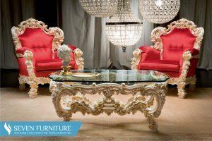 Kursi Sofa dan Meja Orfeo Royal