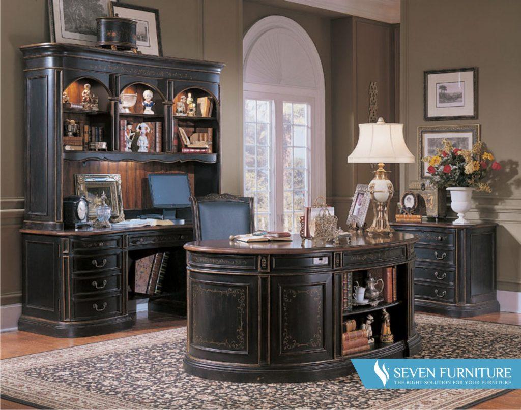 Set Ruang Kantor Dark Brown