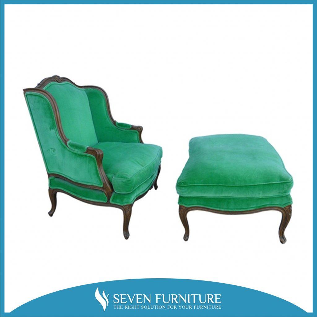 Sofa Santai Beludru