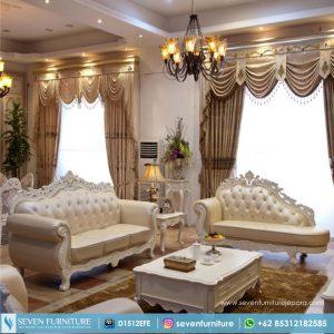Satu Set Sofa Tamu Ukiran Duco