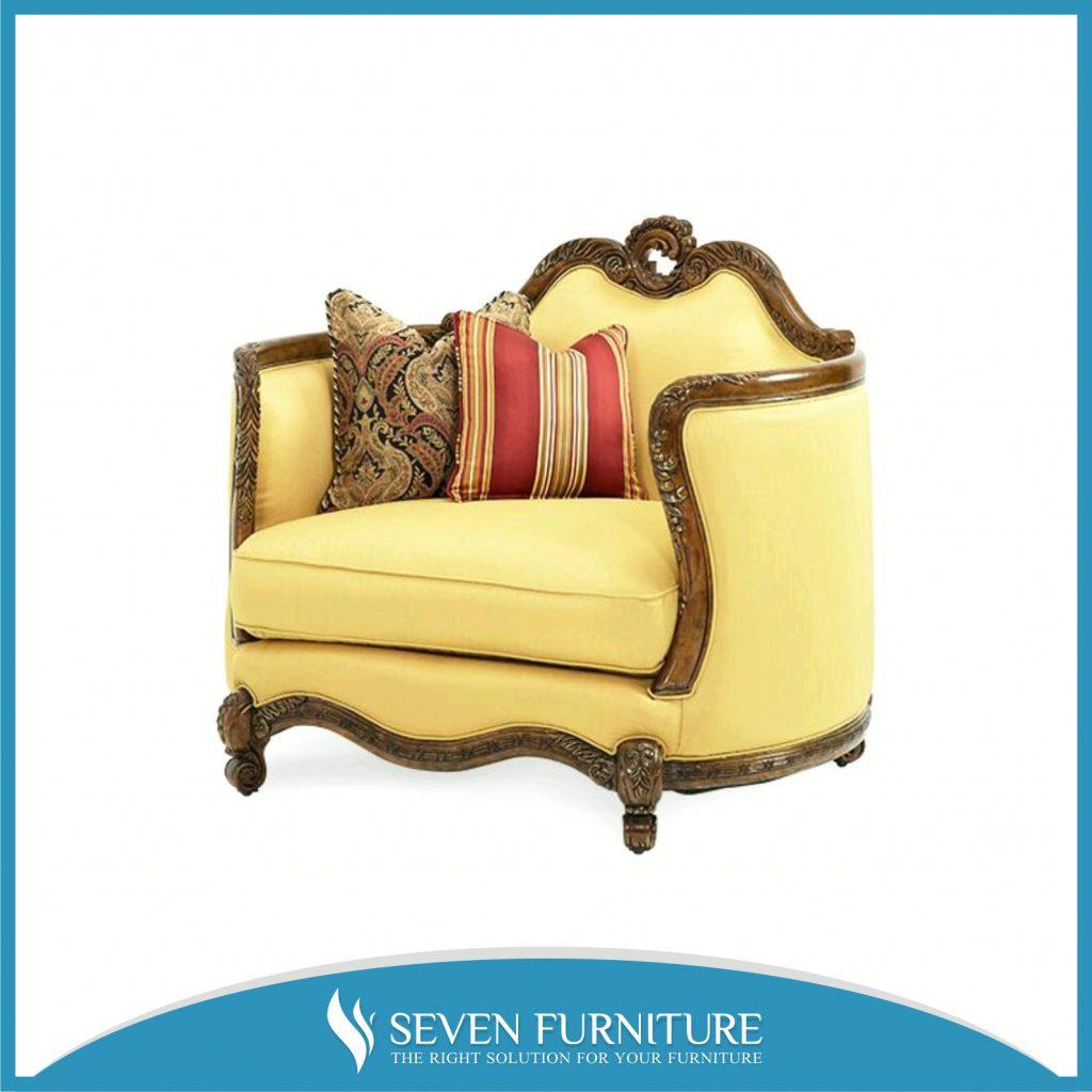 Sofa Tamu Romawi Single Seat
