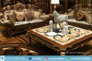 Set Sofa dan Meja Tamu