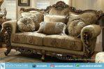 Sofa Ukir Bunga Mawar