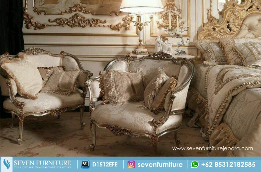 Sofa Ukir Metallic