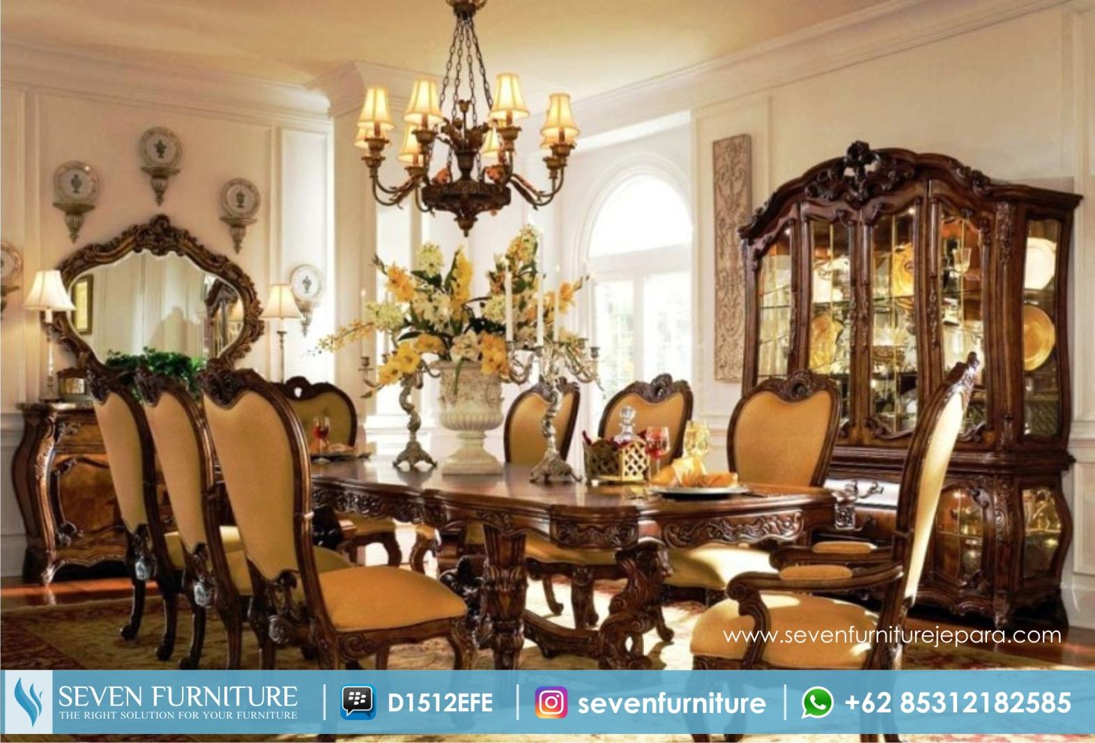 Set Ruang Makan Luxury Style