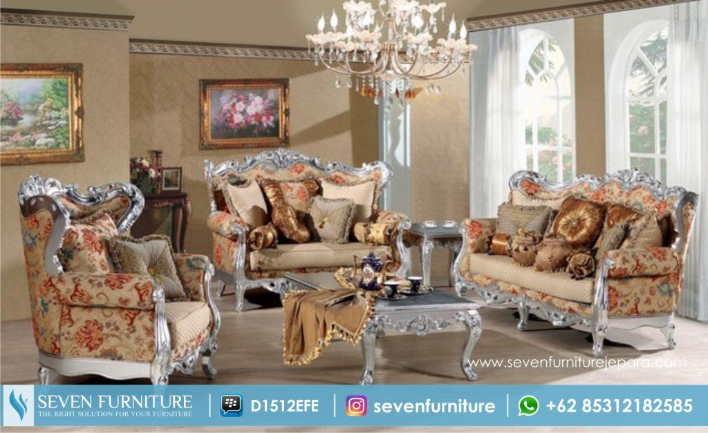 Set Sofa Tamu Motif Ukir