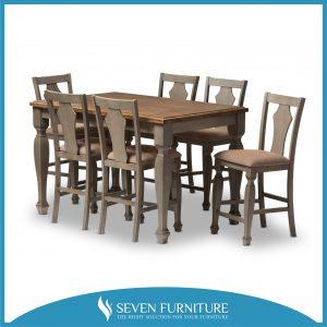Set Kursi dan Meja Makan Antik