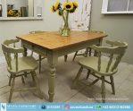 Meja Dan Kursi Makan Vintage