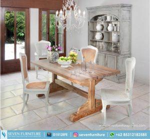 Meja Dan Kursi Makan Duco Antik