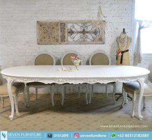 Kursi dan Meja Makan Oval