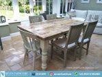 Set Meja Dan Kursi Makan Antique
