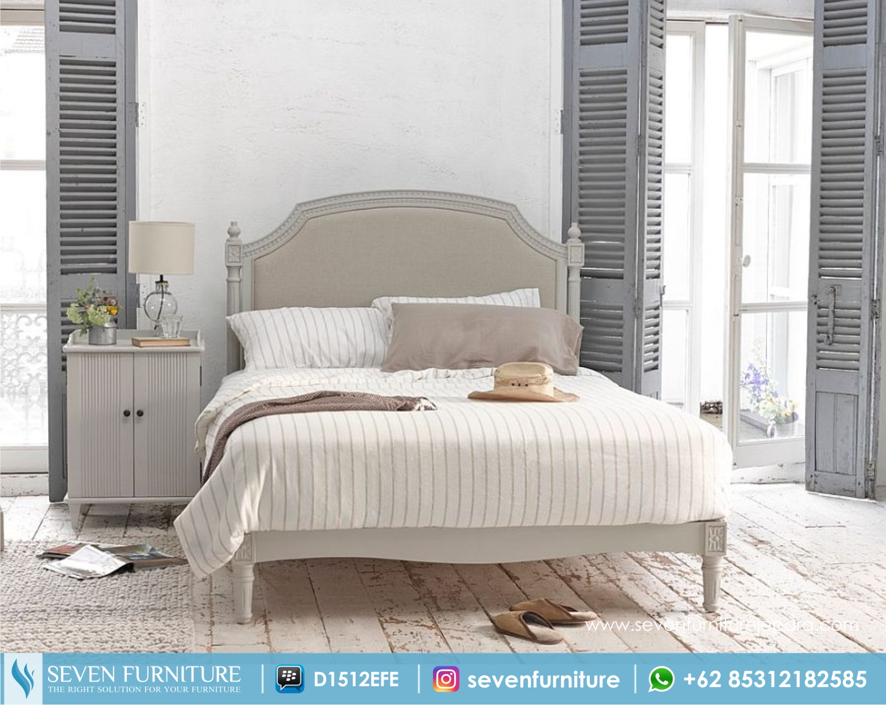 Tempat Tidur Dan Nakas Minimalis