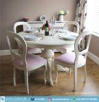 Set Meja dan Kursi Makan Shabby Chic