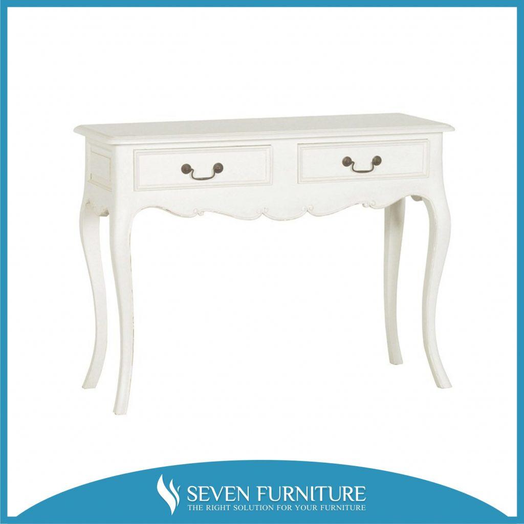 Meja Konsol Putih