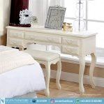 Meja Konsol Putih Simpel