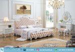 Set Tempat Tidur Putih Shabby