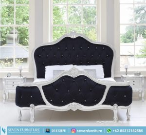 Tempat Tidur French Black