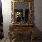 meja rias gold by seven furniture