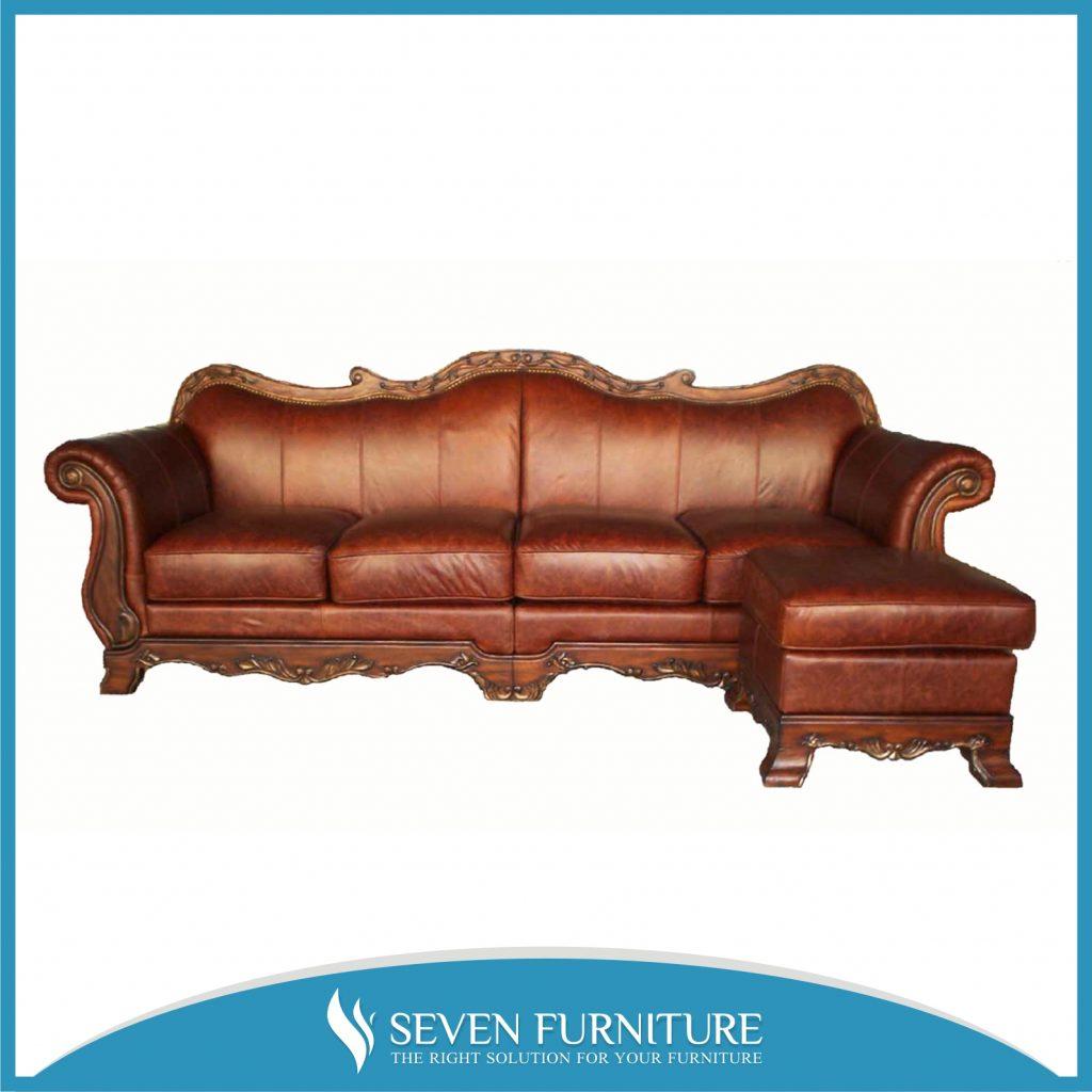 Sofa Tamu L Klasik