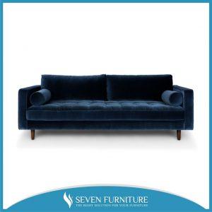 Sofa Minimalis Beludru