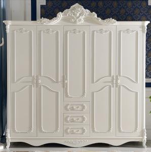 Lemari Pakaian Putih 5 Pintu