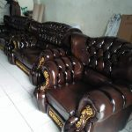 Bangku Tamu Jati Mawar