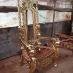 Kerangka Kursi Raja Emas