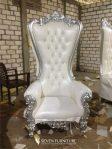 Sofa Syahrini Putih Silver