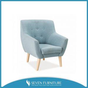 Sofa Retro Biru Turquoise