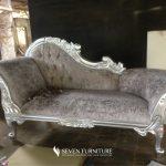 Sofa Lois Mawar Silver