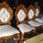 Kursi Makan Minerva Putih