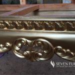 Bench Sofa Louise Rococo Gold