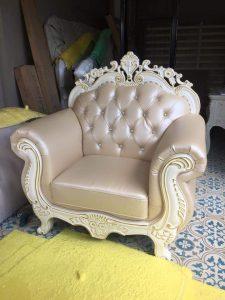 Sofa Tamu Ivory