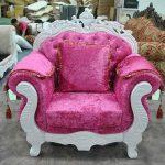 Sofa Shabby Pink