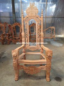 King Chair Mahogany