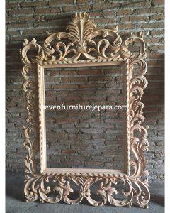 Frame Bingkai Cermin Dinding Ukiran