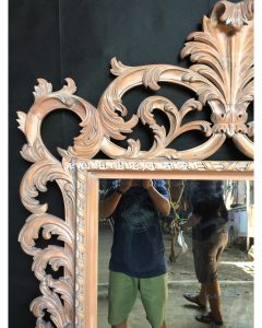 Detail Ukiran Frame