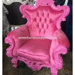 Sofa Romawi Pink 1 Seater