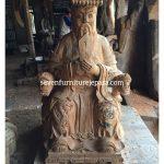 Patung Dewa Kayu Jati