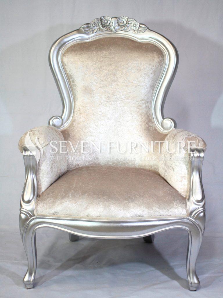 Kursi Teras Silver Glossy