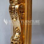 Detail Perapian Gold Mewah