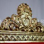 Detail Mahkota Kursi Lion King