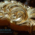 Gold Leaf Atau Emas Tempel Pada Produk Furniture