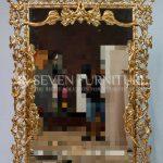 Cermin Hias Mewah Ukiran Jepara
