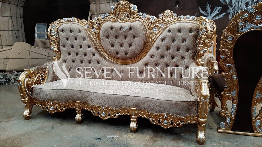 Sofa Tamu Full Ukir Bellagio 3 Seater